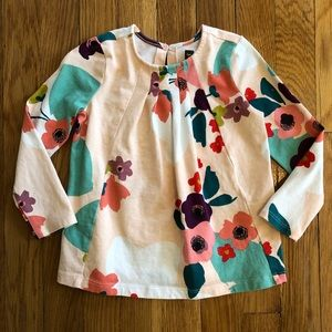 Like New Tea Collection Floral Shirt
